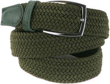 Woven Belt Army Green