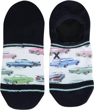 Xpooos Sneaker Socks Cars