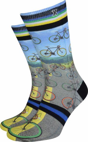 Xpooos Socken Fahrräder