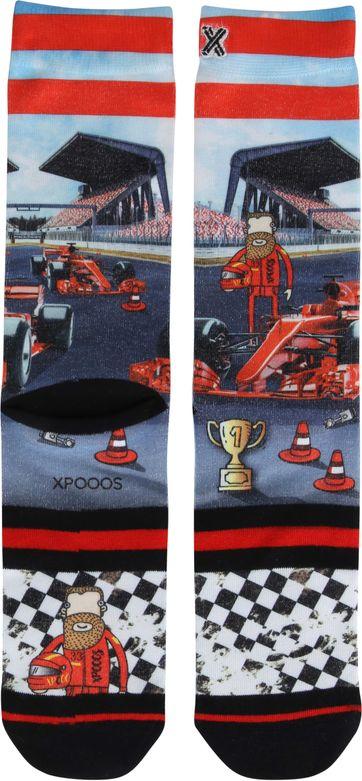 Xpooos Socken Racing