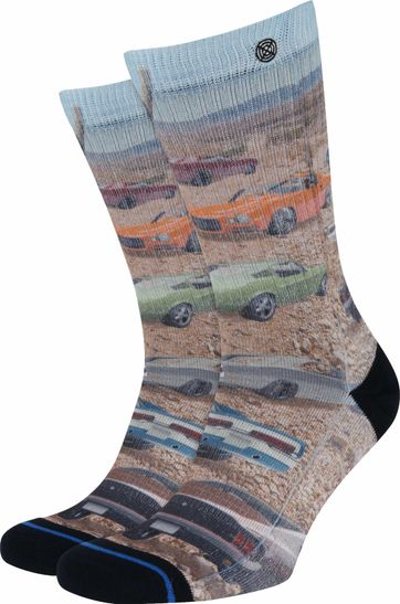 Xpooos Socks Muscle Cars