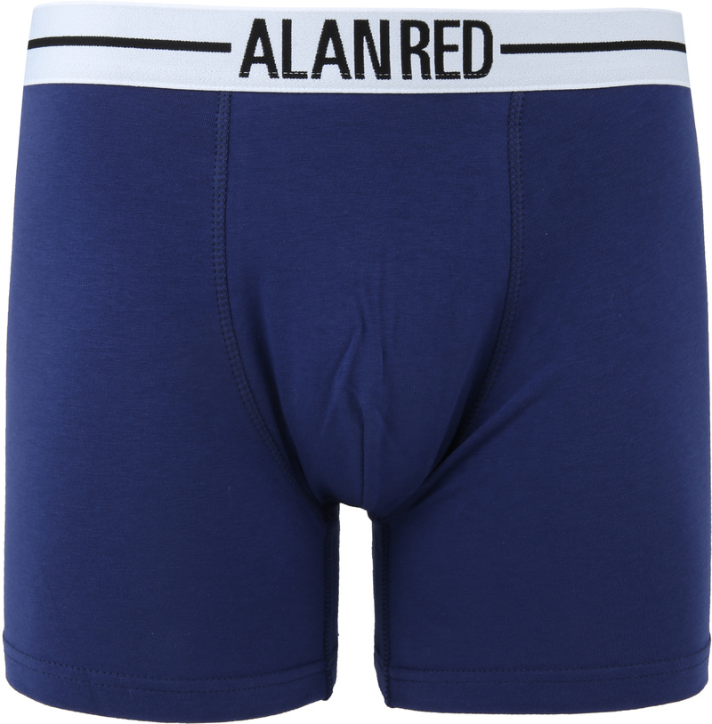 Alan Red Boxer Shirts Dark Blue 2-Pack photo 1