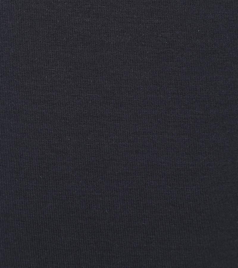 Alan Red Master Col Longsleeve Shirt Donkerblauw