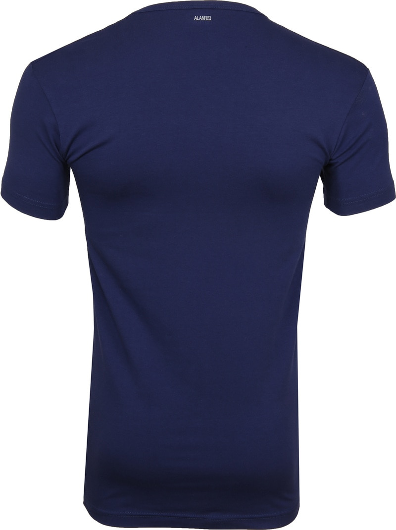 Alan Red Oklahoma V-Neck T-Shirt Blue (2Pack) photo 4