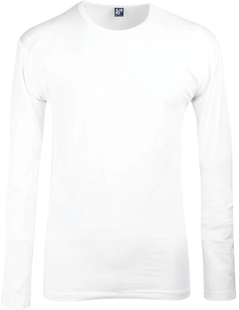 Alan Red Olbia Longsleeve White 1-Pack photo 0