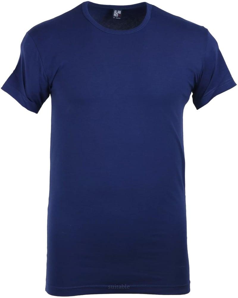 Alan Red Ottawa T-shirt Stretch Ultramarine 1-Pack photo 0