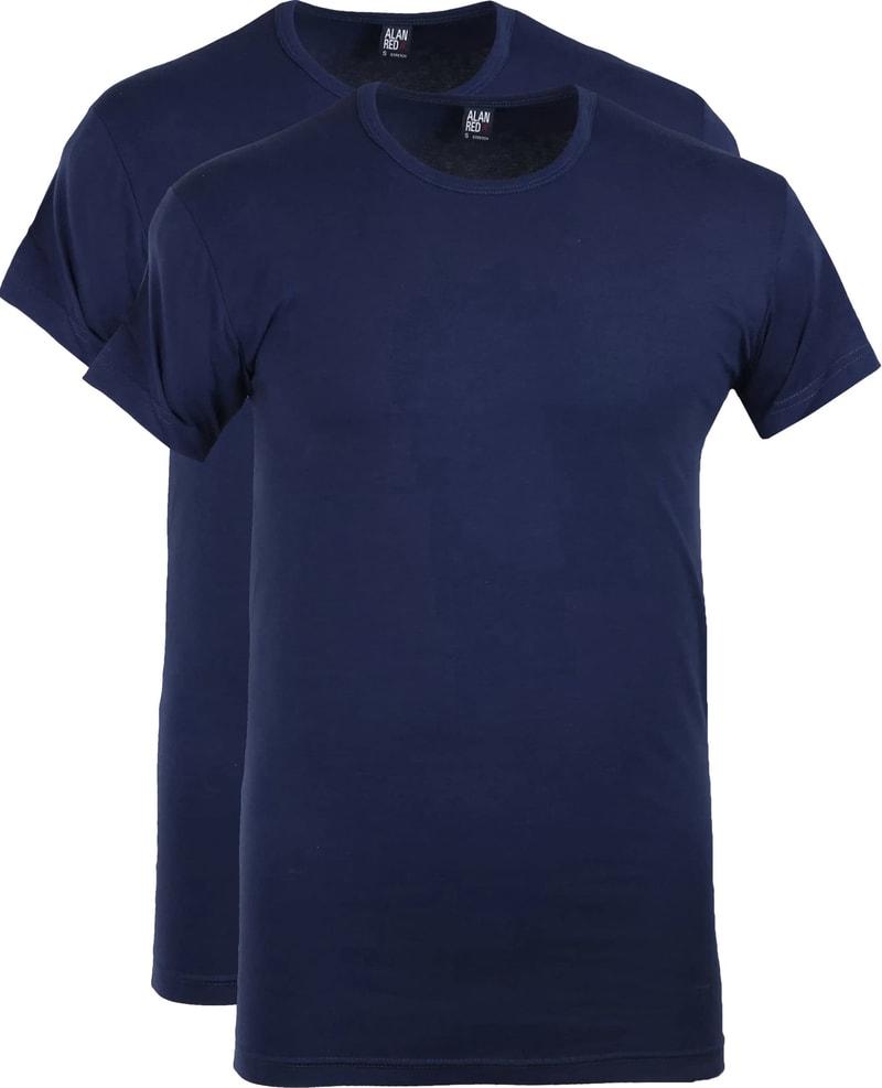 Alan Red Ottawa T-shirt Stretch Ultramarine (2Pack) foto 0