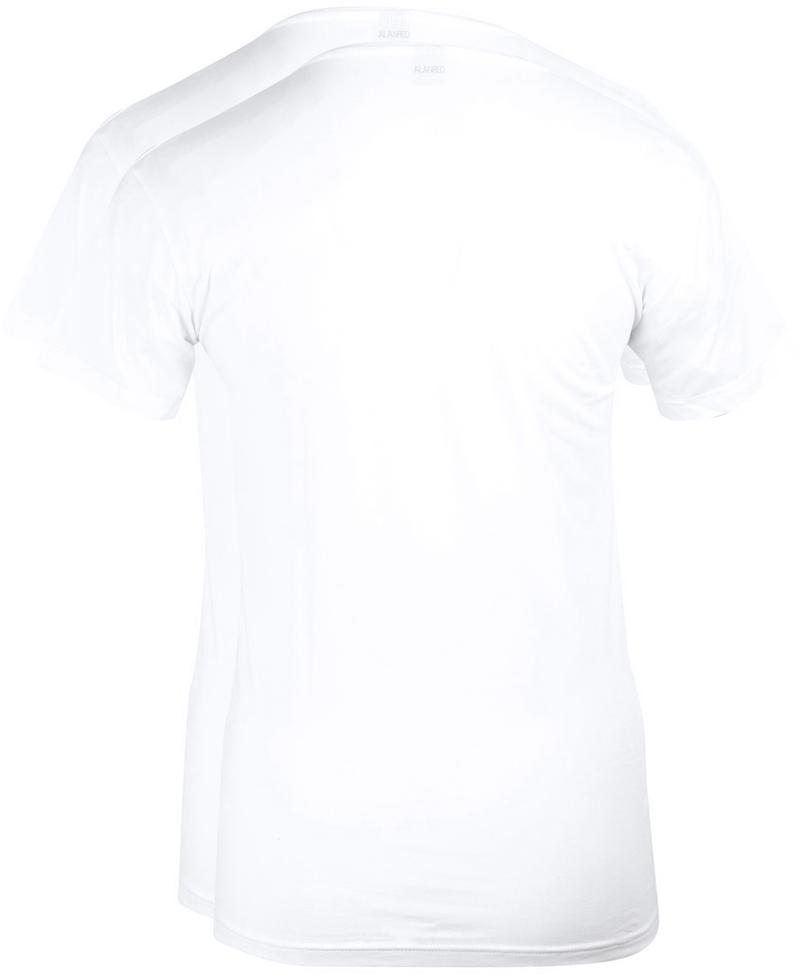 Alan Red T-Shirt Extra Brede O-Hals Stretch foto 2