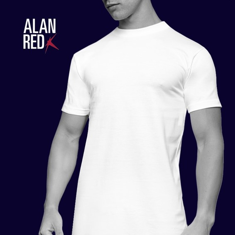 Alan Red T-Shirt Virginia Extra Long (2pack) foto 3