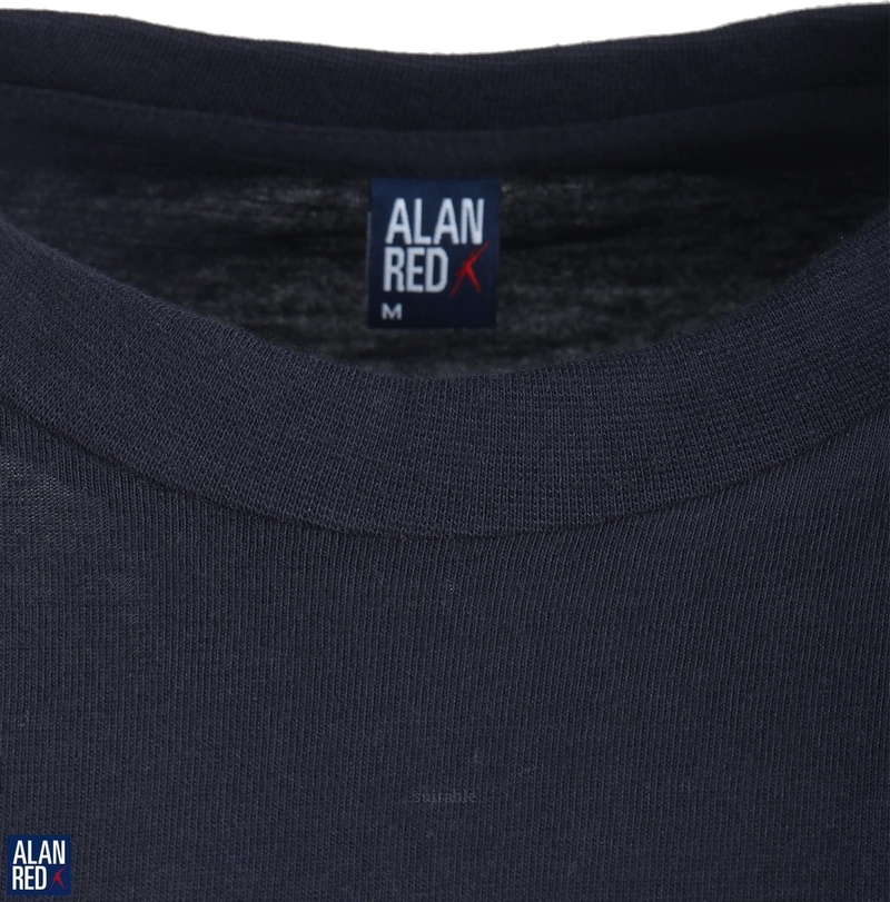 Alan Red T-Shirt Virginia Navy (2 pack)
