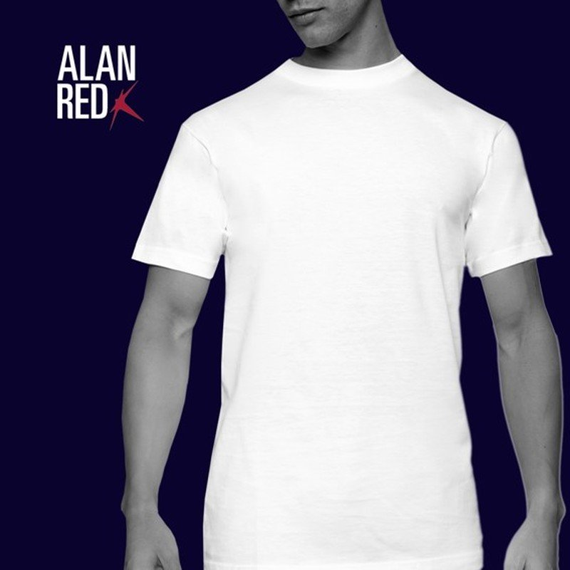 Alan Red T-shirt Virginia O-Neck 2-Pack photo 6