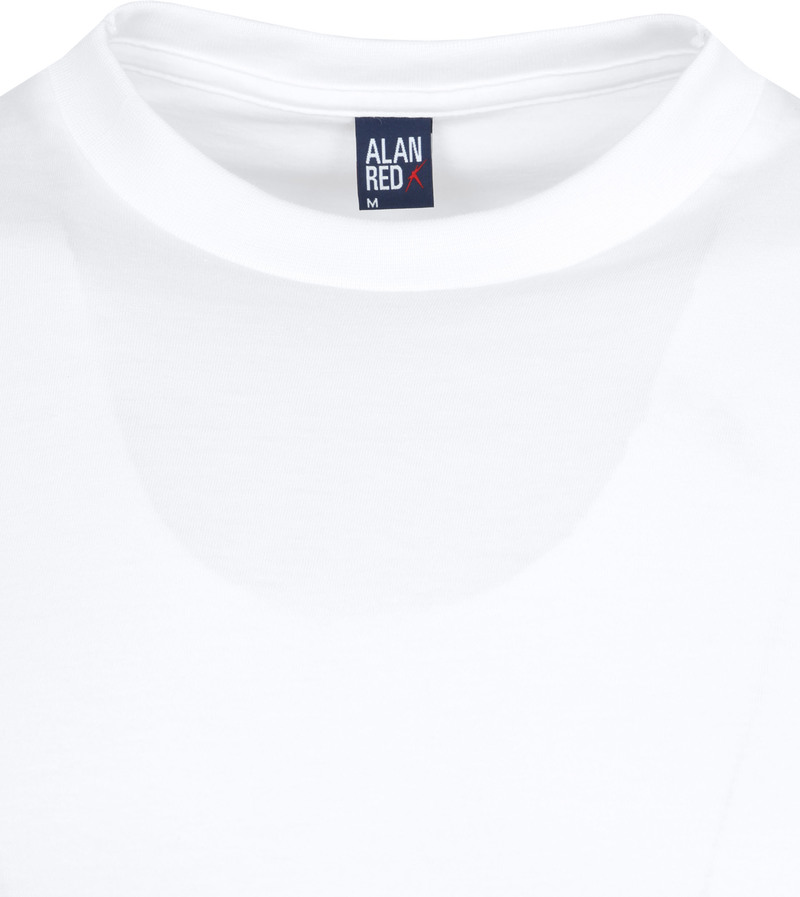 Alan Red T-shirt Virginia O-Neck 2-Pack photo 2