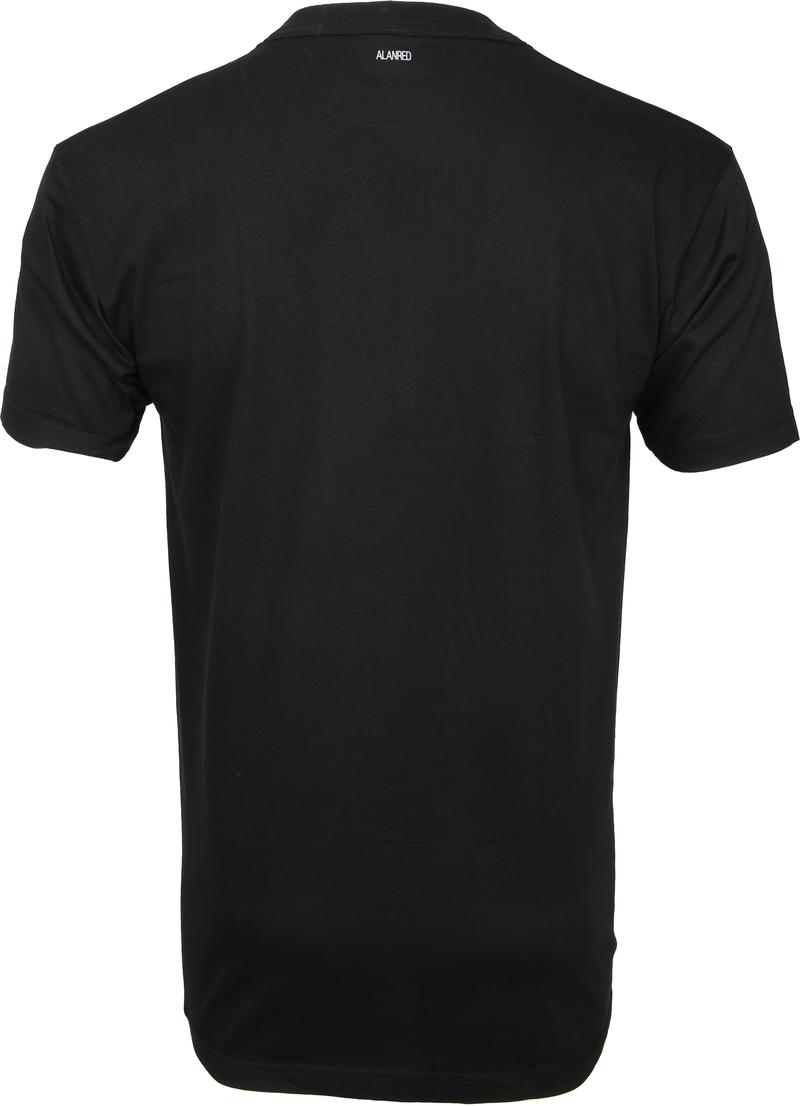 Alan Red T-shirt Virginia O-Neck Black 2-Pack photo 1