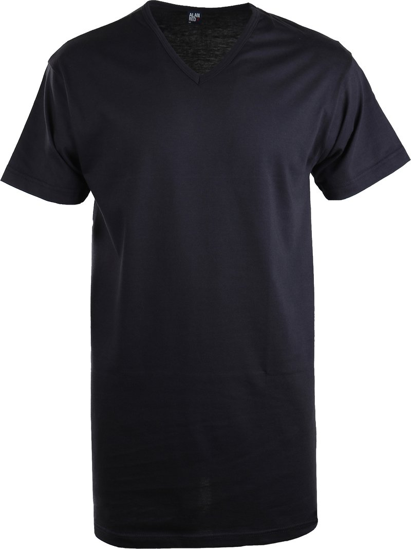 Alan Red Vermont Extra Lang T-Shirt Navy (1Pack) foto 0