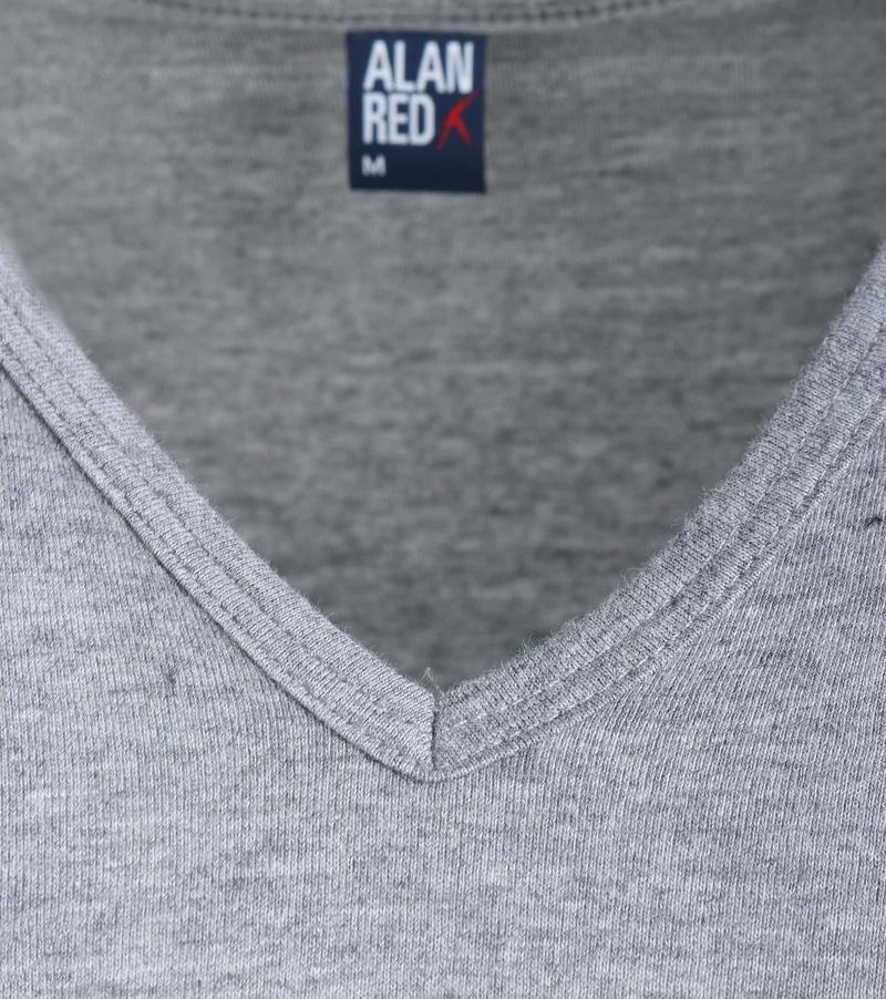 Alan Red Vermont T-Shirt V-Hals Mouse (1Pack) foto 1