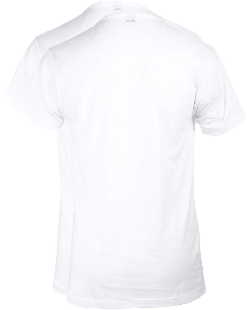 Alan Red Vermont T-Shirt V-Hals Wit (2Pack) foto 3