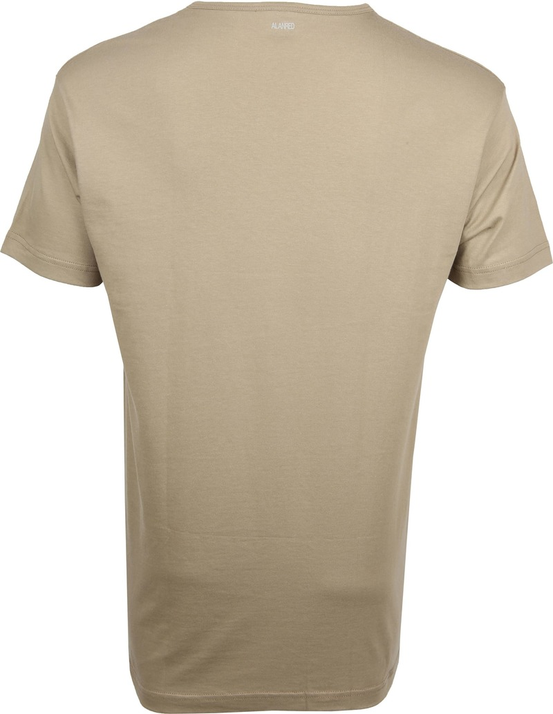 Alan Red Vermont T-Shirt V-Neck Khaki (2Pack) photo 3