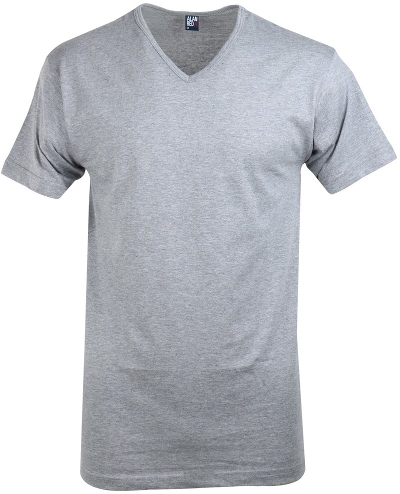 Alan Red Vermont T-shirt V-Neck Mouse 1-Pack photo 0