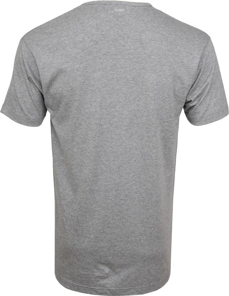 Alan Red Vermont T-shirts V-Hals Grijs (2Pack) foto 4