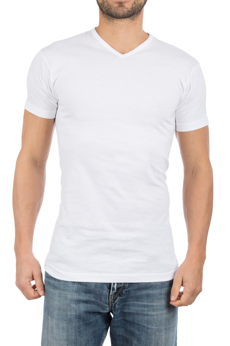 Alan Red Vermont T-shirts V-Neck Grey (2Pack) photo 5