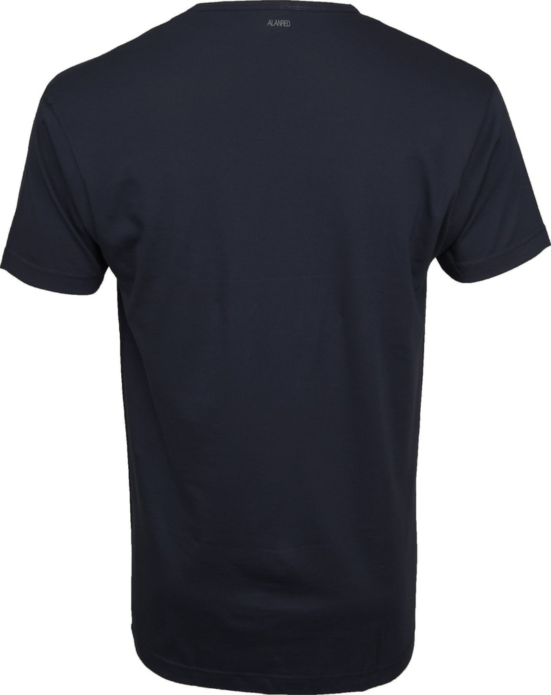 Alan Red Vermont T-shirts V-Neck Navy (2Pack) photo 4