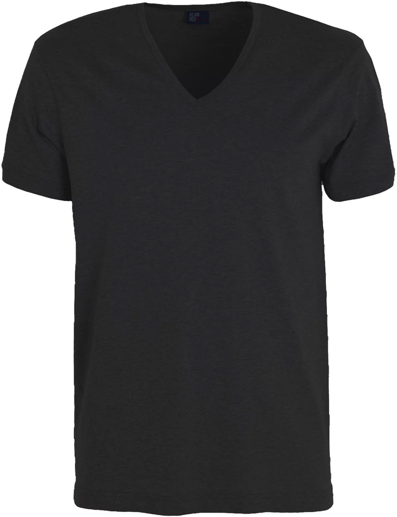 Alan Red Verner T-shirt Deep V-Neck Black 1-Pack photo 0