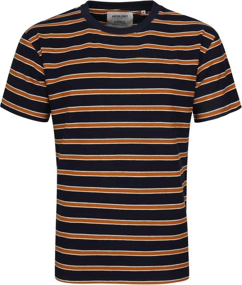 Anerkjendt T-shirt Akkikki Strepen foto 0