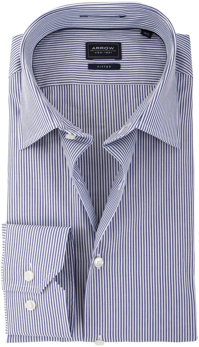 Arrow Overhemd Blauw Streep  online bestellen | Suitable