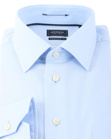 Detail Arrow Overhemd Kent Blauw