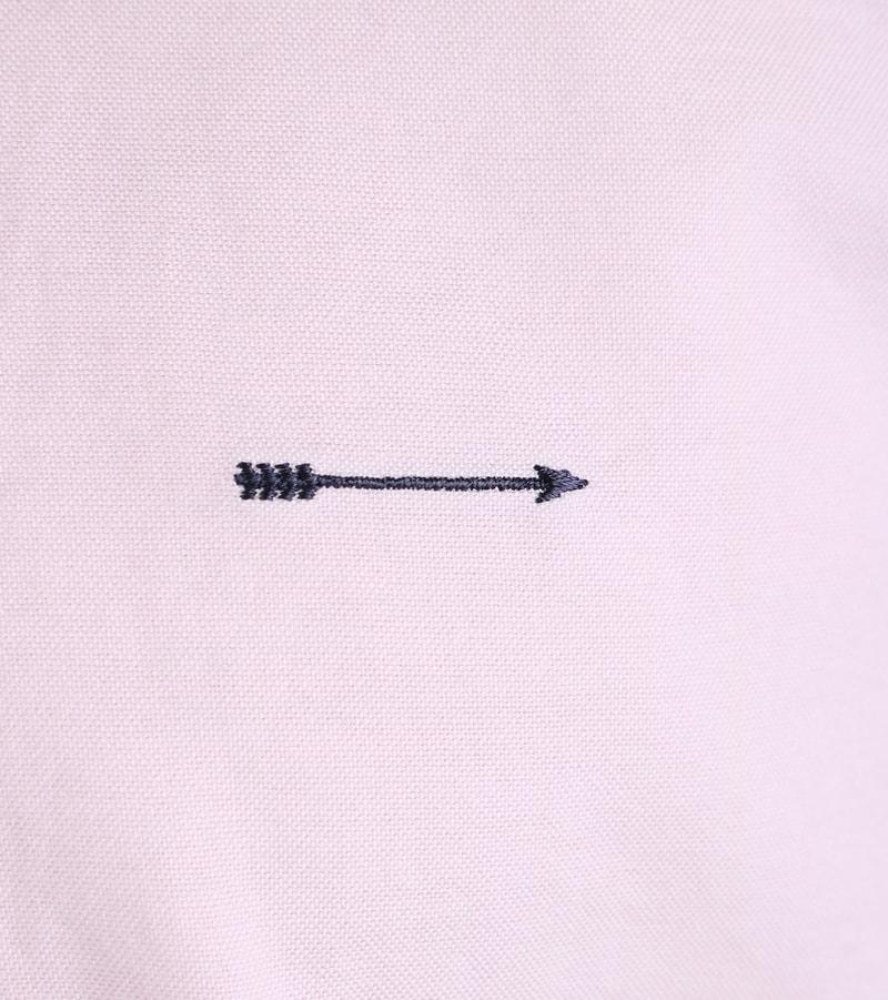Detail Arrow Overhemd Roze