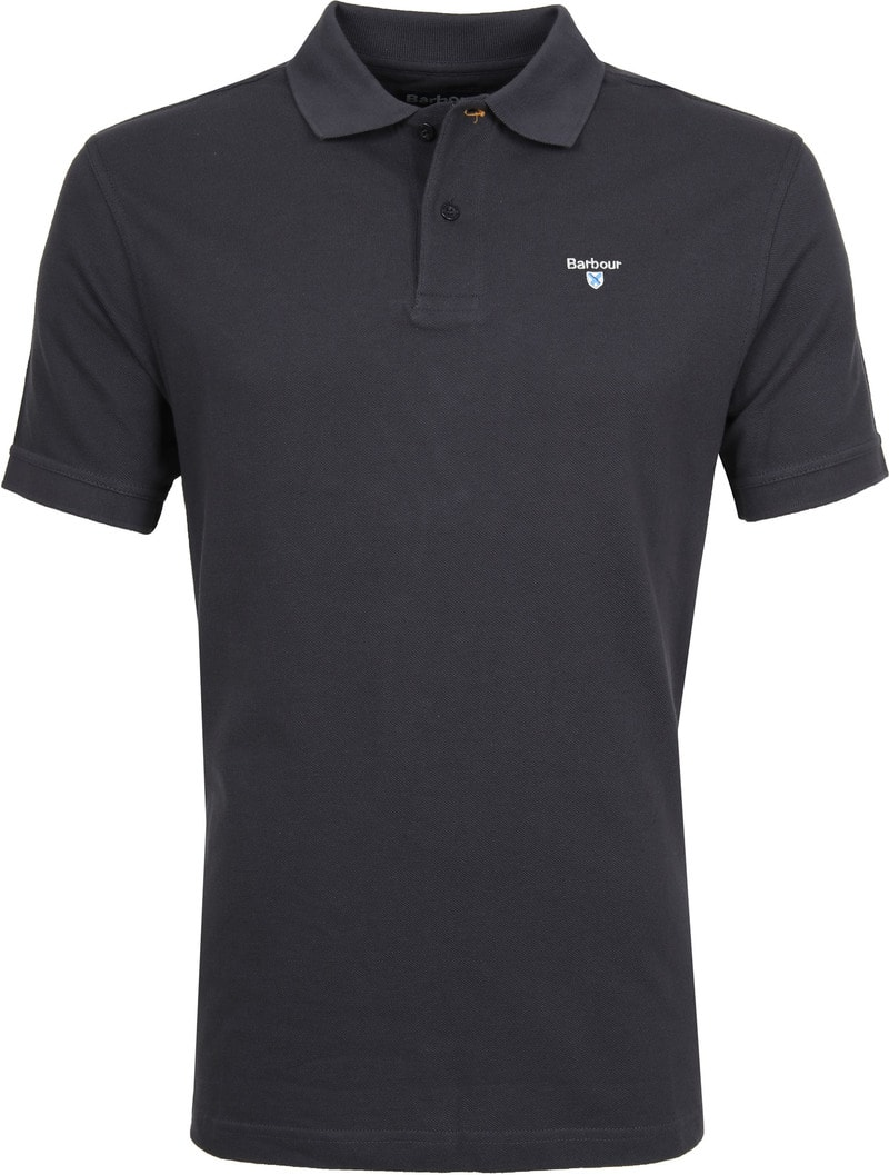 Barbour Basic Polo Antraciet foto 0