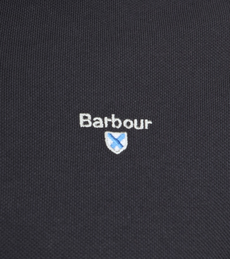 Barbour Basic Poloshirt Dark Grey photo 2