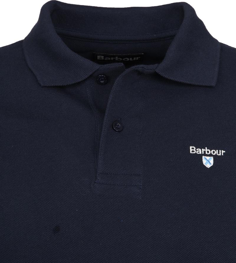 Barbour Basic Poloshirt Dunkelblau