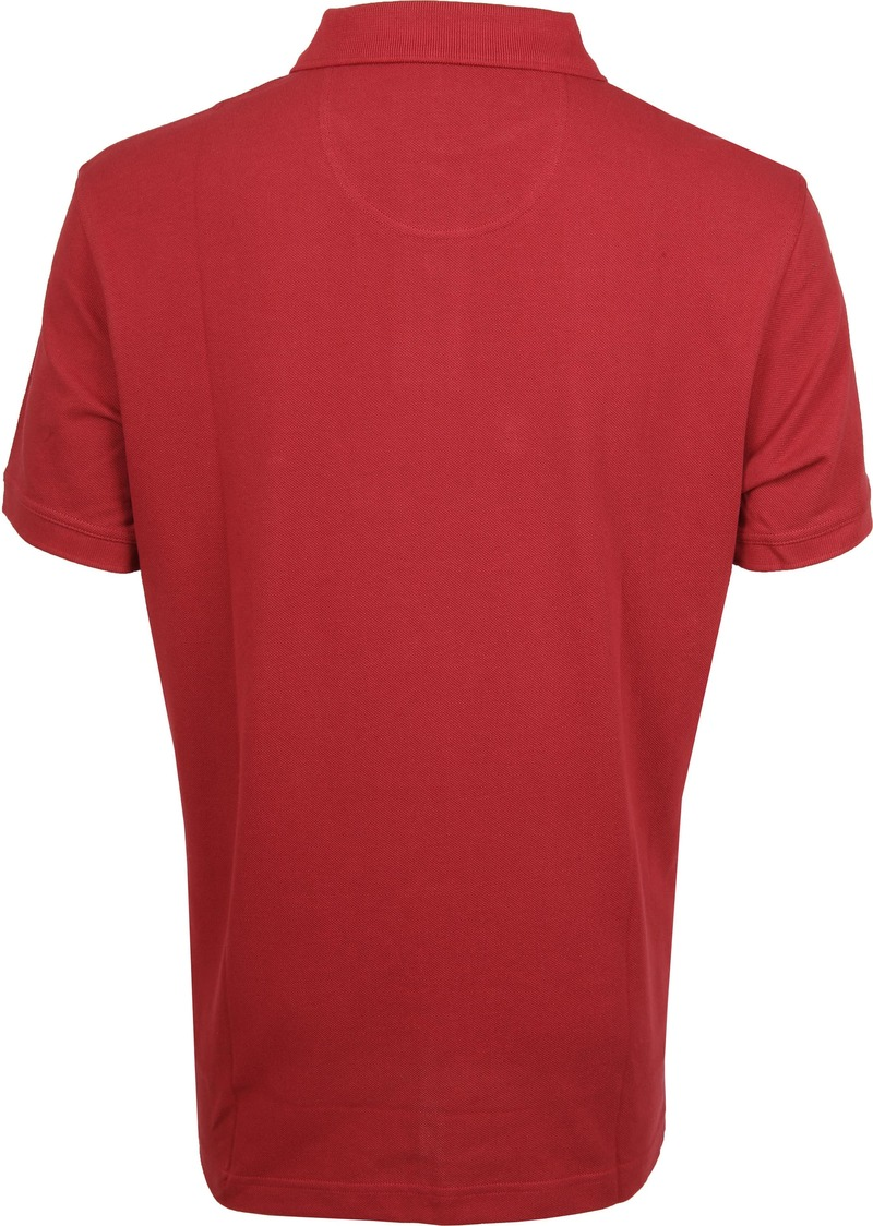 Barbour Basic Poloshirt Rot Foto 3