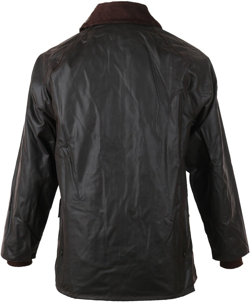 Barbour Bedale Wax Jacket Brown photo 1