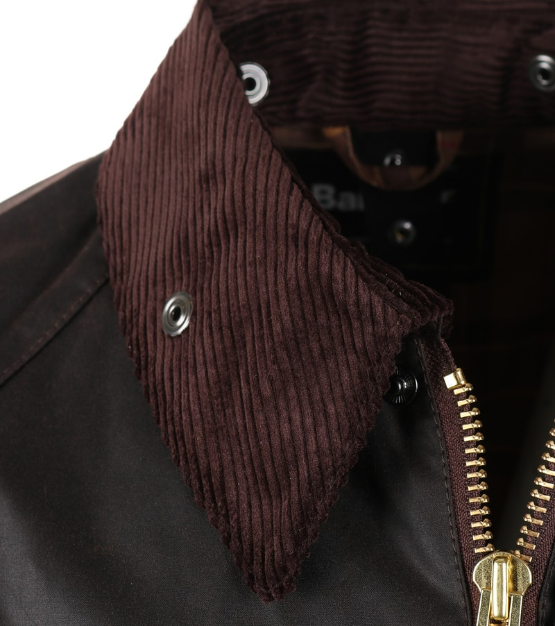 Barbour Bedale Wax Jacket Brown photo 2