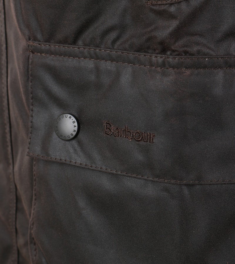 Barbour Bedale Wax Jacket Brown photo 4