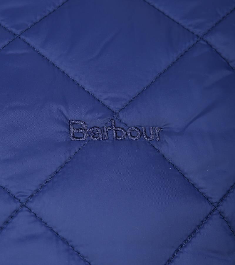 Barbour Belk Quilt Jack Blauw foto 2