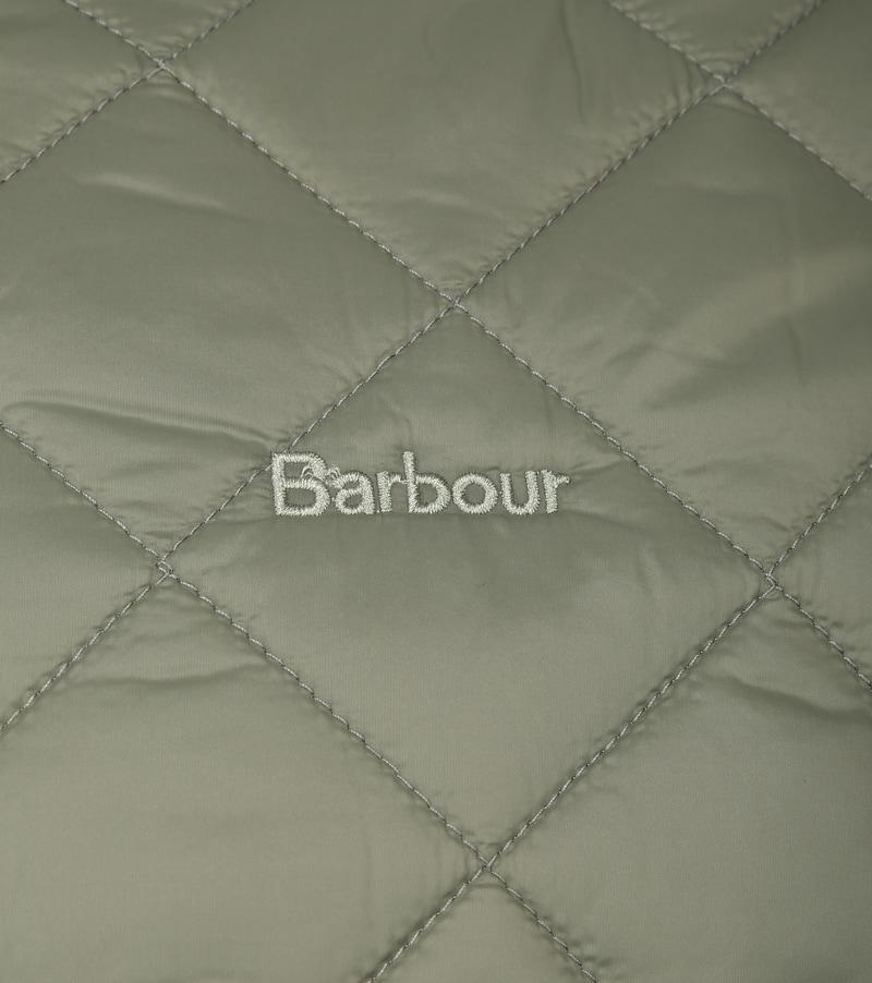 Barbour Belk Quilt Jack Groen foto 3