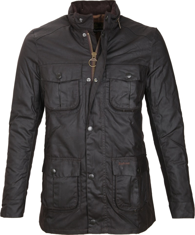 Barbour Corbridge Wachsjacke Rustic Foto 0