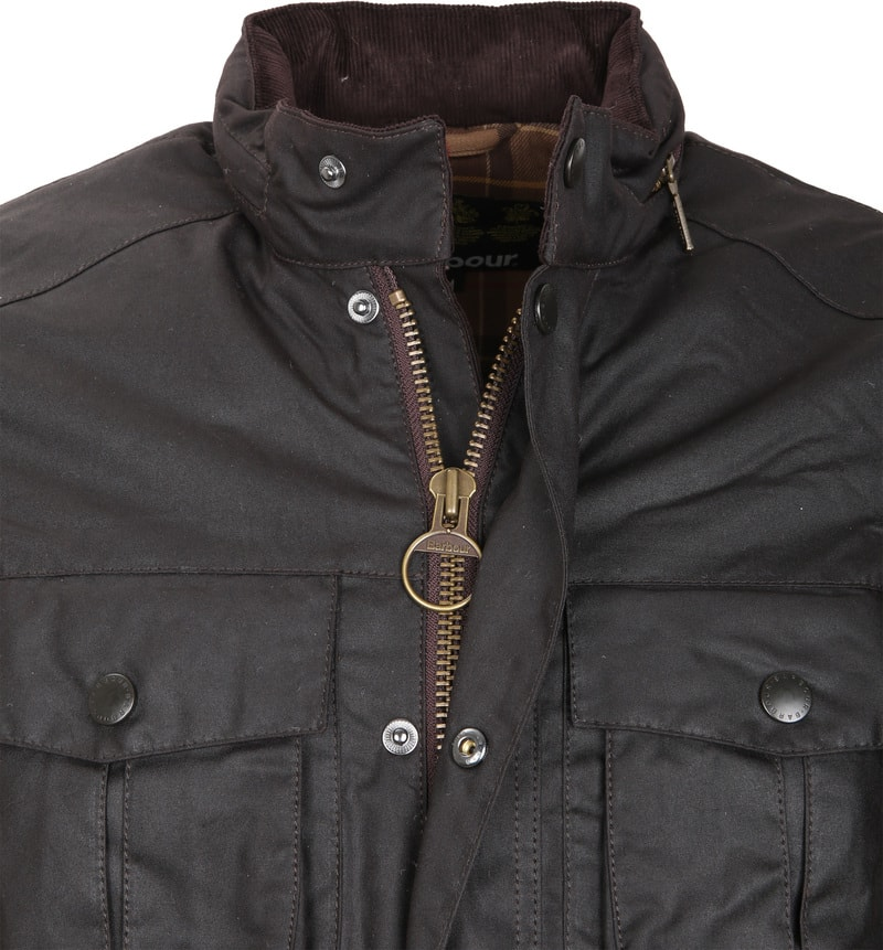 Barbour Corbridge Wachsjacke Rustic Foto 1