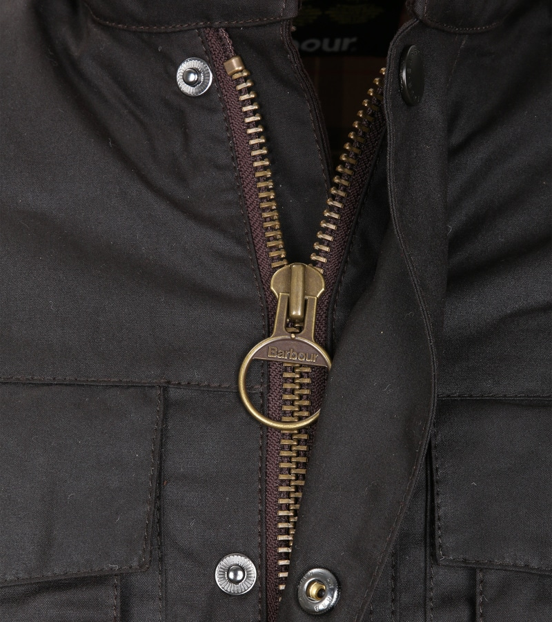 Barbour Corbridge Wachsjacke Rustic Foto 2