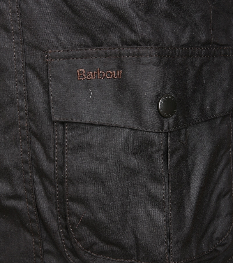 Barbour Corbridge Wachsjacke Rustic Foto 3