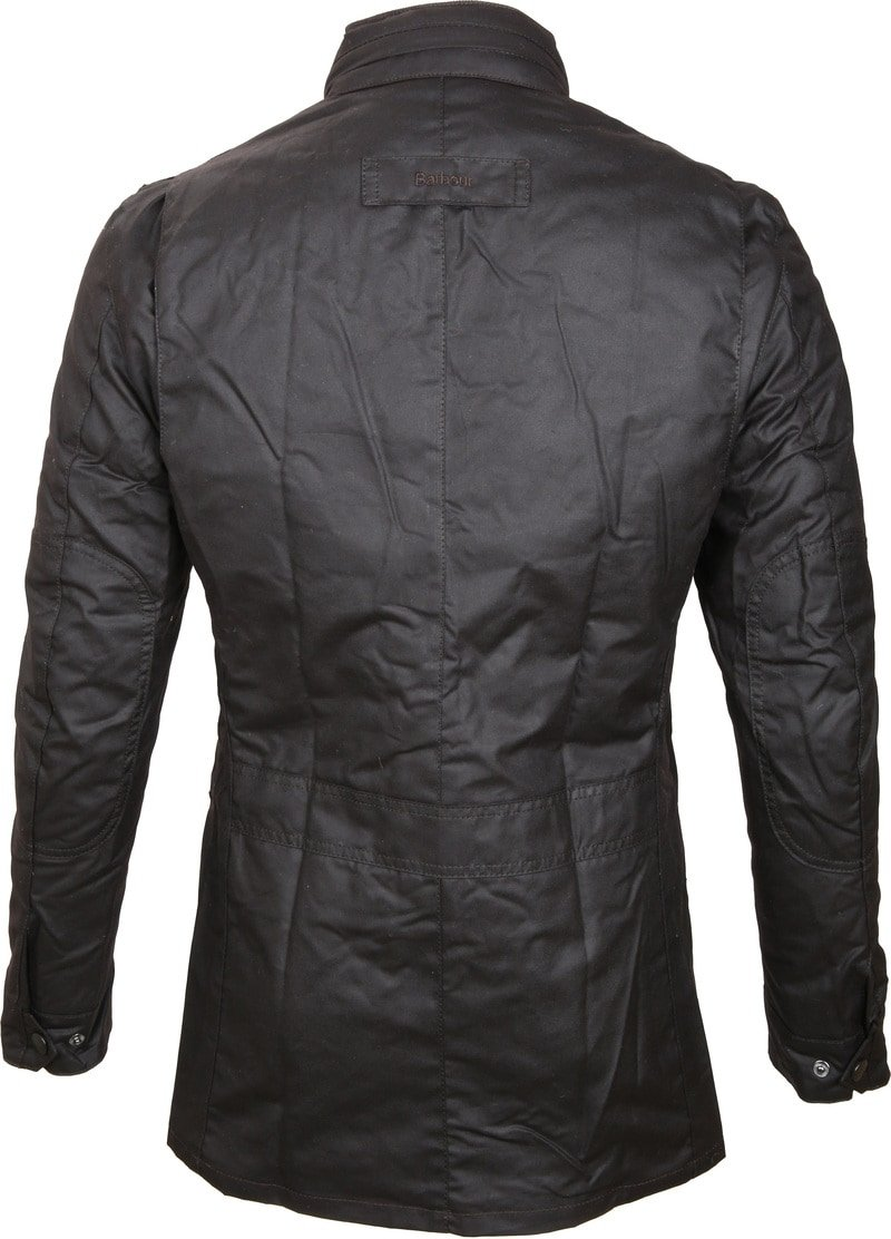 Barbour Corbridge Wachsjacke Rustic Foto 4