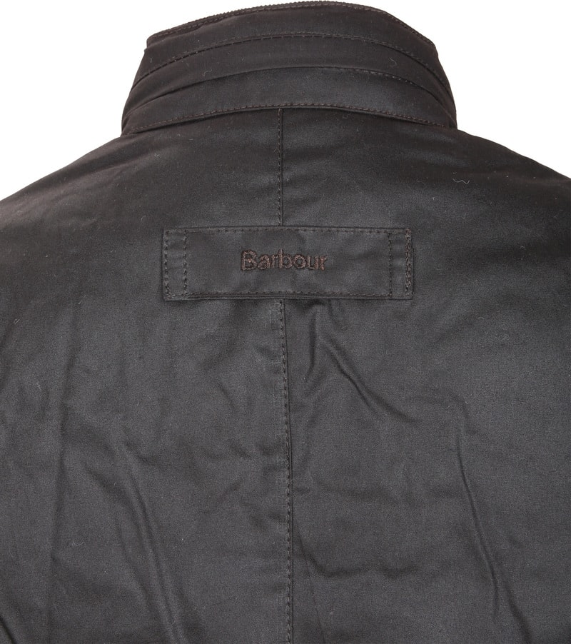 Barbour Corbridge Wachsjacke Rustic Foto 5