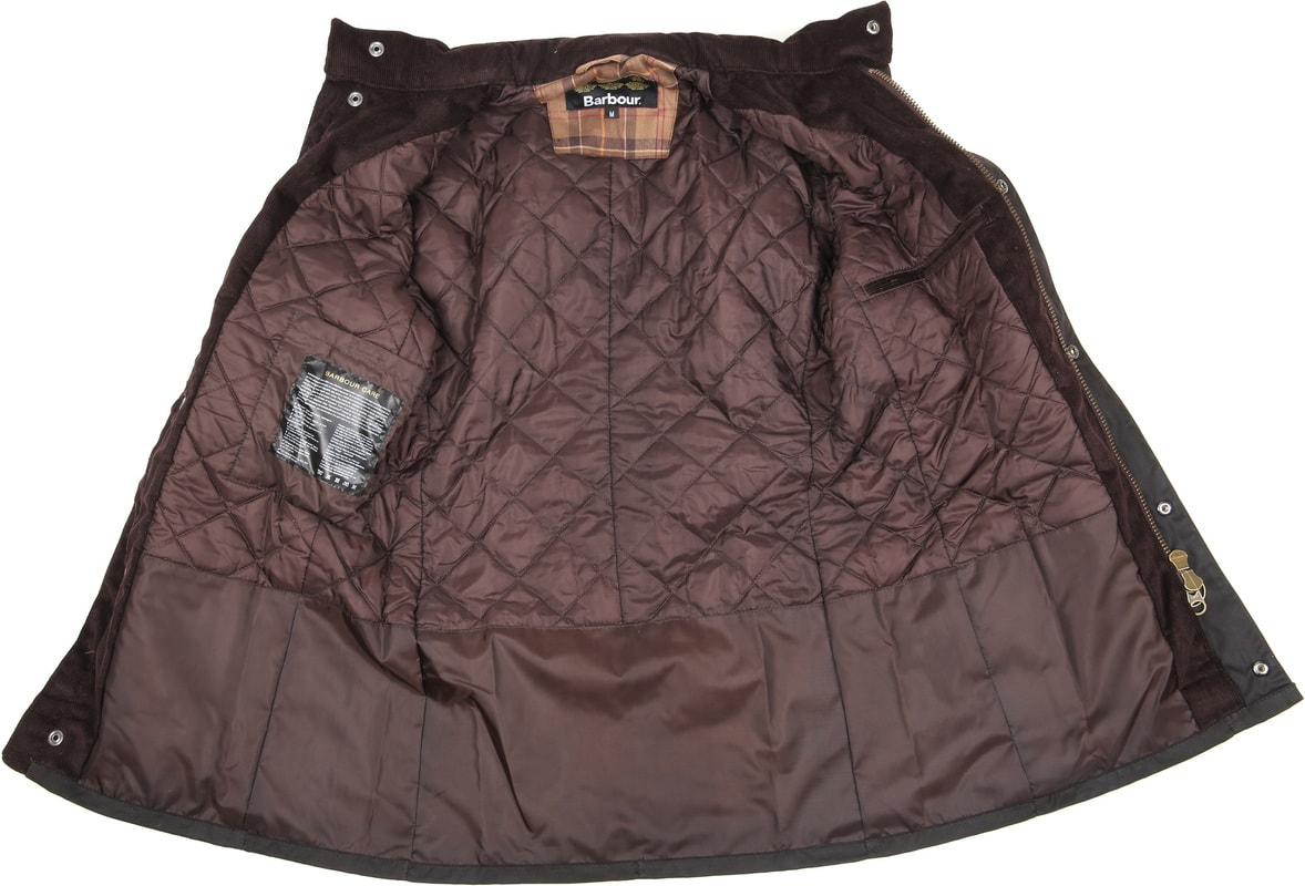 Barbour Corbridge Wachsjacke Rustic Foto 6