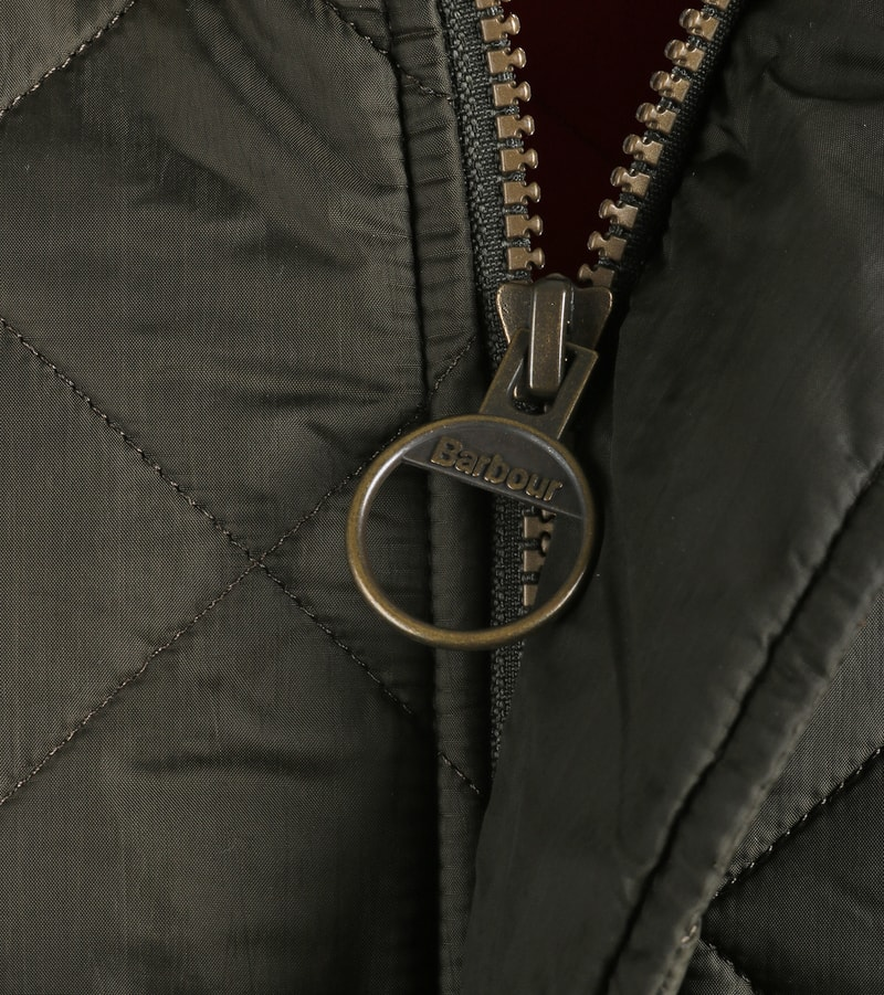 Barbour Flyweight Chelsea Quilted Steppjacke Olivgrün Foto 2