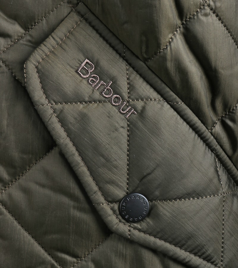 Barbour Flyweight Chelsea Quilted Steppjacke Olivgrün Foto 4