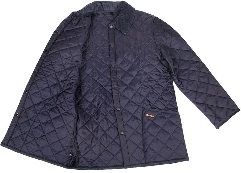 Barbour Heritage Liddesdale Jacket Navy
