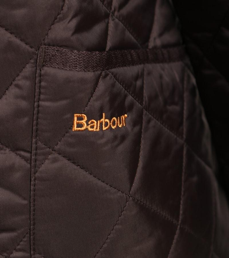 Barbour Heritage Steppjacke Braun Foto 4